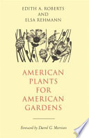 American Plants for American Gardens Book