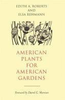 American Plants for American Gardens