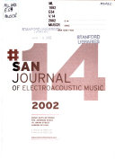 Journal of Electroacoustic Music