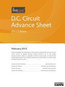 D C  Circuit Advance Sheet February 2012
