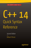 C   14 Quick Syntax Reference