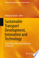 Book Cover: Sustainable Transport Development, Innovation and Technology