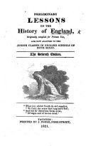 Preliminary lessons on the history of England ... The fifth edition