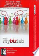 Business Essentials Mybizlab With Pearson Etext Access Card