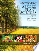Encyclopedia of Applied Plant Sciences
