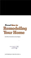 Sunset ideas for remodeling your home