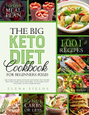 The Big Keto Diet Cookbook for Beginners  2020