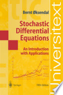 Stochastic Differential Equations Book