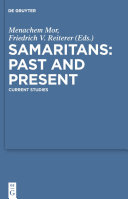 Samaritans – Past and Present Pdf/ePub eBook