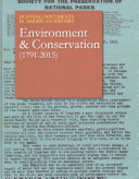 link to Environment & conservation (1791-2015) in the TCC library catalog