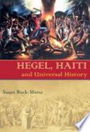 Hegel  Haiti  and Universal History