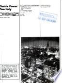 Electric Power Quarterly