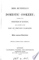 Mrs  Rundell s Domestic cookery