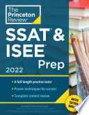 Princeton Review SSAT   ISEE Prep  2022