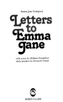 Letters To Emma Jane