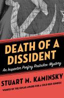 Death of a Dissident Pdf/ePub eBook