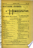 The Southern Journal Of Homoeopathy