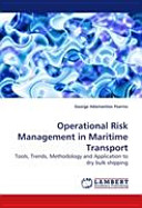 Operational Risk Management in Maritime Transport