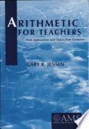 Arithmetic for Teachers Book