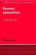 Formal Semantics