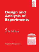 DESIGN AND ANALYSIS OF EXPERIMENTS  5TH ED Book