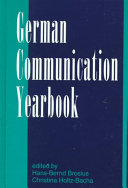 The German Communication Yearbook