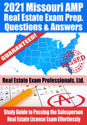 Pdf 2021 Missouri AMP Real Estate Exam Prep Questions & Answers Telecharger