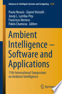 Ambient Intelligence     Software and Applications Book