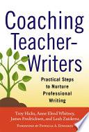 Coaching Teacher Writers