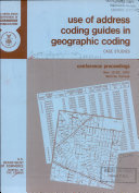 Use of Address Coding Guides in Geographic Coding