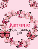 Butterflies Adult Coloring Book