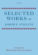 Selected Works of Joseph E  Stiglitz