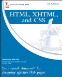 HTML  XHTML  and CSS