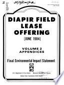 Proposed Diapir Field Lease Offering, June 1984