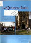 Law Quadrangle Notes - Bände 48-49 - Seite 73