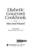 Diabetic Gourmet Cookbook