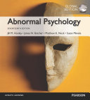 Abnormal Psychology Global Edition