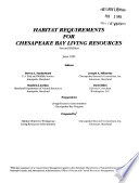 Habitat Requirements for Chesapeake Bay Living Resources