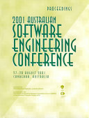 2001 Australian Software Engineering Conference