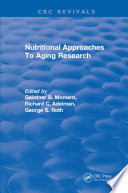 Nutritional Approaches To Aging Research Book