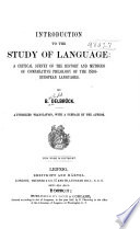Introduction to the Study of Language