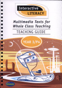 Interactive Literacy   Multimedia Texts for Whole Class Teaching