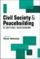 Civil society & peacebuilding