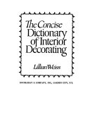 The concise dictionary of interior decorating