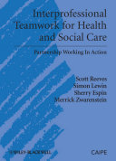 Cover of Interprofessional Teamwork for Health and Social Care