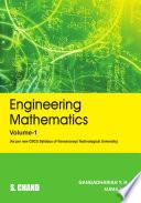 Engineering Mathematics, Volume-1 (For VTU, Karnataka, As Per CBCS)