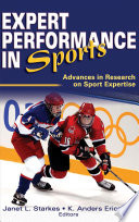 Expert Performance in Sports Book