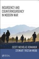 Insurgency and Counterinsurgency in Modern War