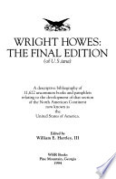 Wright Howes, the Final Edition of U.S.iana