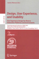 Design  User Experience  and Usability  User Experience Design for Diverse Interaction Platforms and Environments
